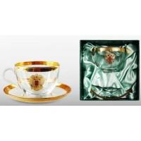 Чайная пара подарочная «ЗОЛОТОЙ ЗАПАС»