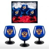 Подарочный набор бокалов для коньяка