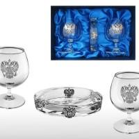 Подарочный набор бокалов для коньяка(бренди)