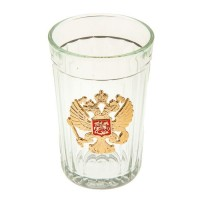 Подарочный граненый стакан
