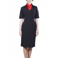 Платье короткий рукав ,ткань габардин